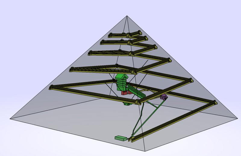 Que faut il penser de la th orie des anciens astronautes for Interieur pyramide